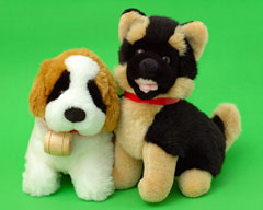 plush toy puppies
